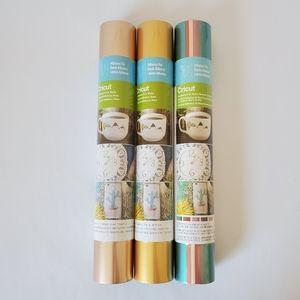 BUNDLE 3 Cricut Adhesive Foil Matte